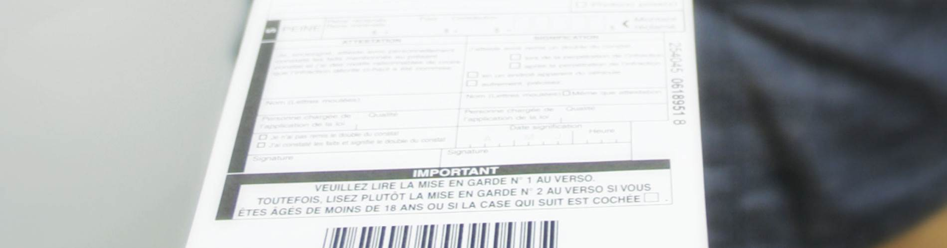 Ville Montréal Qc Ca Payer Constat >> Constat D Infraction